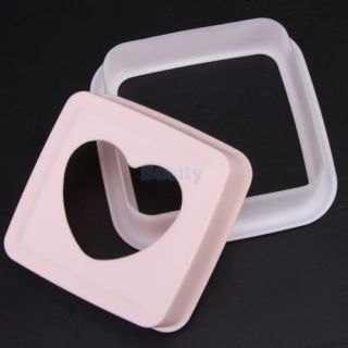 3X Heart Shape Lunch Food Sandwich Bread Cake Mold Mould Cutter Maker Tool