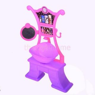Vivid Dollhouse Colorful Furniture Hair Hand Wash Salon Sink Kit Toy for Barbie