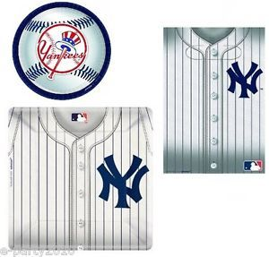 MLB New York Yankees Baseball Party Supplies Pick One or Create Your Own Set