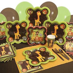 Party Supplies Funfari Fun Safari Jungle Baby Shower or Birthday Party