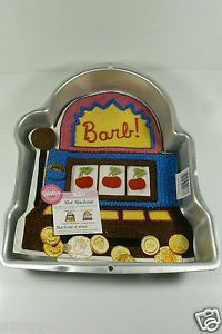 Wilton Slot Machine Birthday Party Supplies Cake Pan New $0 Shipping