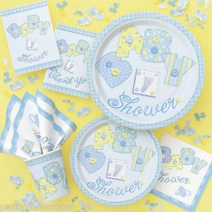 Baby Shower Blue Boy Party Tableware Decorations All The Items You Need