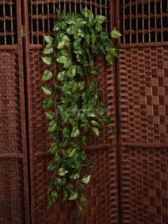 Artificial Money Plant Silk Leaf Garland Hanging Vine for Home Wall Party Decor