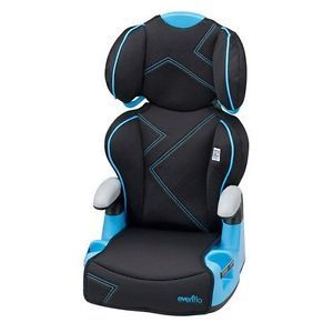 Evenflo Amp High Back Booster Car Seat Baby Child Chair Safety Travel Toddler
