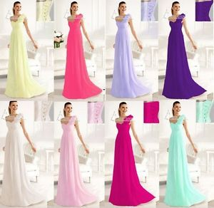 2013 One Shoulder Wedding Bridesmaid Evening Party Formal Women's Prom Dresses