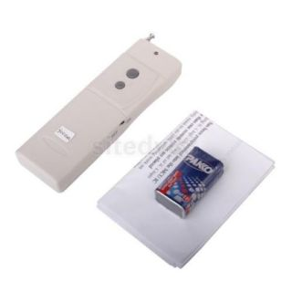 3000M Long Range High Power 315MHz RF Wireless Remote Control DC 9V New
