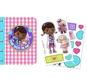 Disney Doc McStuffins 4 Activity Notebooks Birthday Party Supplies