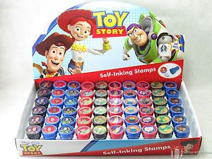 24 Disney Toy Story Self Ink Stamps Party Favors Buzz Woody Jessie Loot V1
