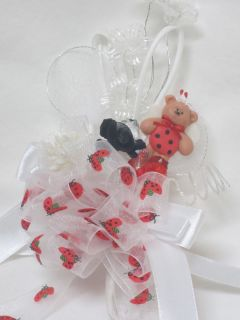 Ladybug Bear Corsage Baby Shower Mom to Be Baby Favor Decoration Party Supplies