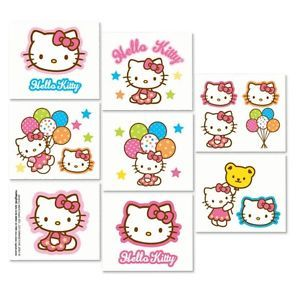 Hello Kitty 16 Tattoos Birthday Party Supplies Party Favors