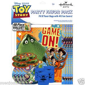 Disney Toy Story Game Time 48 Piece Party Favor Pack Party Supplies