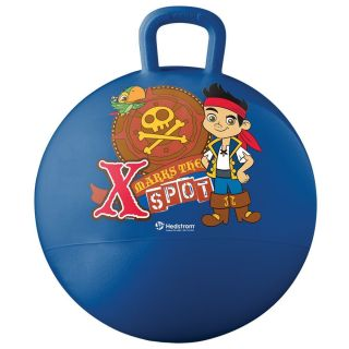 Disney Jake Neverland Pirates Vinyl Hopper Inflatable Ball Bounce Toy Hedstrom