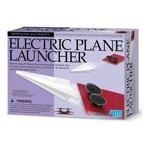 Electric Plane Launcher Science Physics Educational Toy