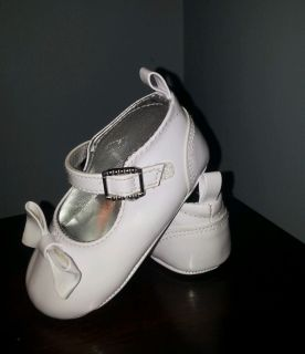 Baby Girls White Dress Shoes Size 3