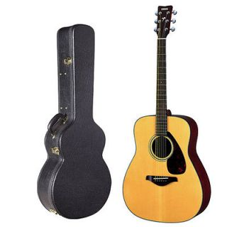 Yamaha FG700S Solid Top Acoustic Guitar with Yamaha Hardshell Guitar Case
