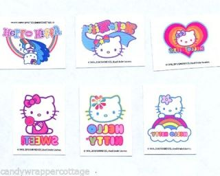 Hello Kitty Tattoos Birthday Party Favors Goody Loot Bag