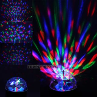 W668 LED Sound Activated Laser DJ Disco Party Stage Club Wedding Light Projector