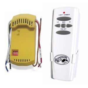 Hampton Bay Ceiling Fan Remote Control and Receiver Kit