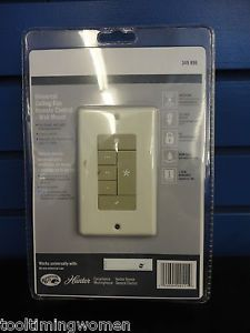 Hunter Universal Wall Mount Ceiling Fan Control Model 99111