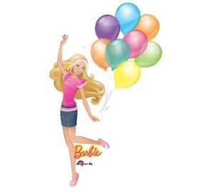 "Barbie Super Shape Balloon 46"" Glamour Party Birthday"
