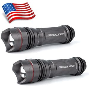 New Nebo Redline SE 5615 250 Lumens LED Tactical Flashlights 2 Pack