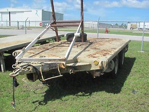 Military M103 A3 Flatbed Trailer
