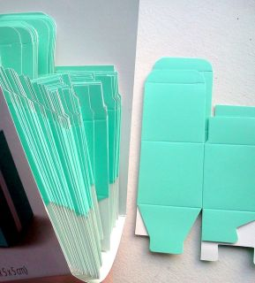 100 Square Turquoise 2x2x2 Gift Boxes Wedding Birthday Baby Shower Party Favors