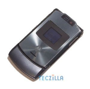 Motorola RAZR V3xx Camera Video Unlocked 3G GSM Flip Phone at T Gray B Stock