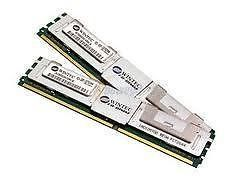 4GB 2x2GB Memory RAM ECC Fully Buffered for Dell Precision Workstation T5400