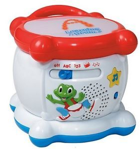 LeapFrog Learning Educational Musical Drum Letters Alphabet Numbers Counting