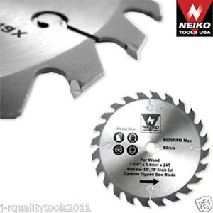 "4 3 8"" inch Small Fine Carbide Tip Tipped Circular Power Saw Blade for Makita"