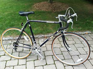 Fuji Absolute Mens Blue Road Touring 12 Speed Bike Mans Vintage Racing Bicycle