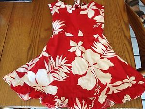 Cute Toddler Girls Hawaiian Dress Sundress Size 2 Sz 2T Kilohana Clothing Kauai