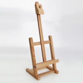 17inch Artist Easel Wood Tripod Table Top Easel Display Drawing Sketching Paint