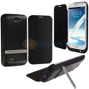 For Samsung Galaxy Note 2 II N7100 4200mAh External Backup Battery Case Charger