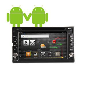 "Android 2 3 2 DIN in Dash Car DVD Player Head Unit GPS Nav 7"" Car PC 3G WiFi"