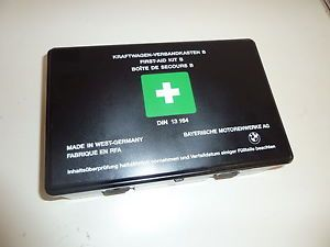 840 850 i Ci CSi E34 M5 Original WEST GERMANY First Aid Kit B DIN13164
