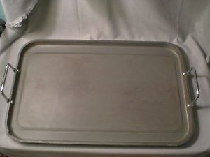 Vtg Commercial Calphalon Anodized Aluminum Griddle Grill Pan Large GR1221 20x13