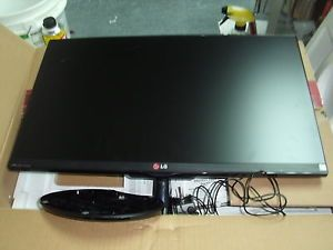 "Damaged LG 27EA63V P Black 27"" 5ms HDMI Widescreen LED LCD Monitor as Is"