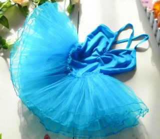 New Girls Party Ballet Tutu Costume Dance Dress 3 10Y Performance Clothes DS014
