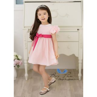 New Kids Clothing Prom Dresses Toddlers Girls Princess Chiffon Dresses AGES1 7Y