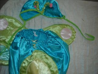 Baby Satin Halloween Bug Dragonfly Costume Sizenot for Newborn Up to 25lbs