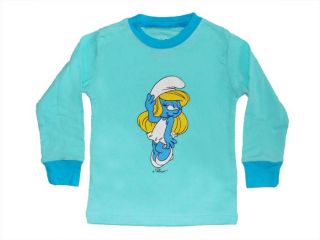 "Girls Baby Clothes Kids Boys' Sleepwear ""The Smurfs""Pajamas Rainbow Suits 2T"