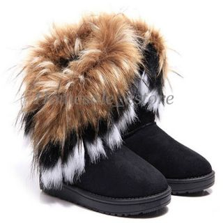 New Fashion Women Autumn Winter Snow Boots Ankle Boots Warm Fur Lady Shoes