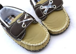 New Infant Toddler Baby Boy Shoes Size 1 2 3