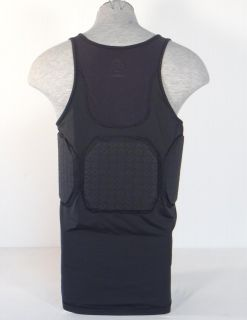 Adidas ClimaCool TECHFIT Black Padded Basketball Compression Tank Mens