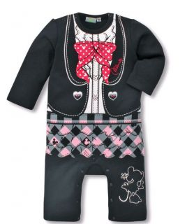Infant Toddler Girl Boy Mickey Minnie Mouse One Piece Jumpsuit Romper Pick