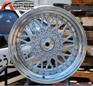 16x9 RS Style 4x108 20 Silver Wheel Fit Ford Mustang 1980 1993 Focus 2000 Up