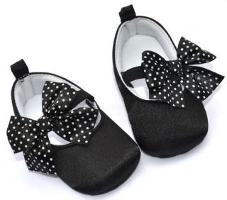 Black Mary Jane Infant Toddler Baby Girl Shoes 6 12 Months
