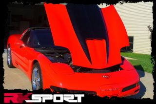 New Rksport Chevy Corvette RAM Air Hood Only Fiberglass Car Body Kit 04011008